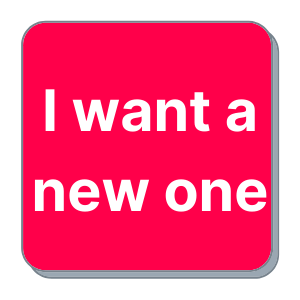I want a new machine